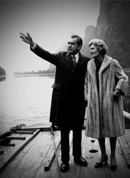 Nixon and his wife visited Guilin