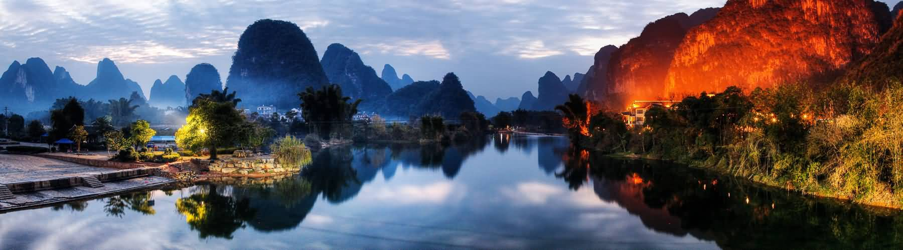 Scenery in Guilin
