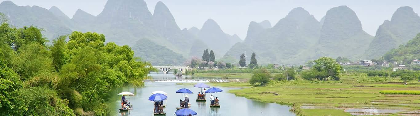 Yulong River in Yangshuo