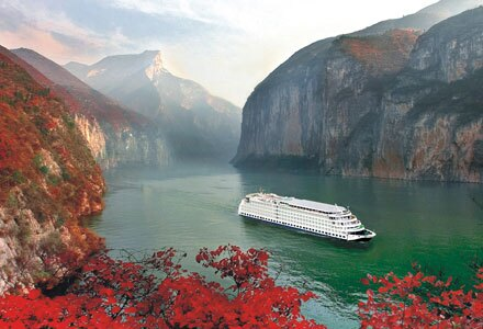 Yangtze River in Autumn