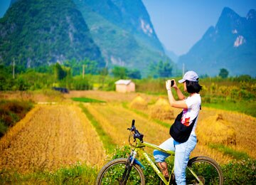 Biking in Yangshuo